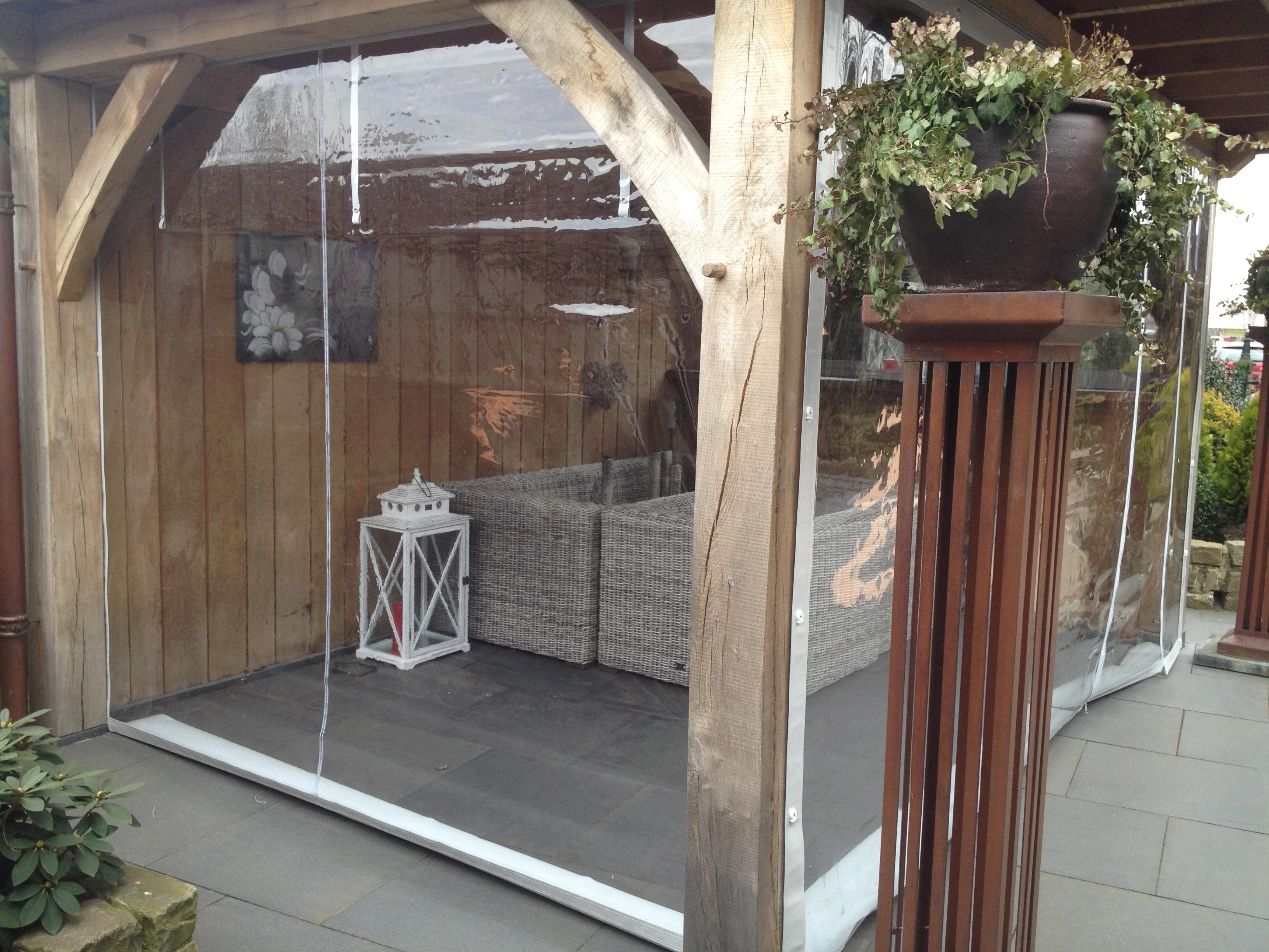 Rn veranda zeilspecialist - Transparante baai veranda ...