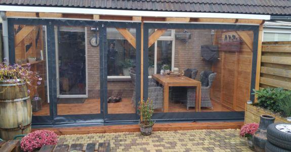 Met verandazeilen verlengt u uw woonkamer