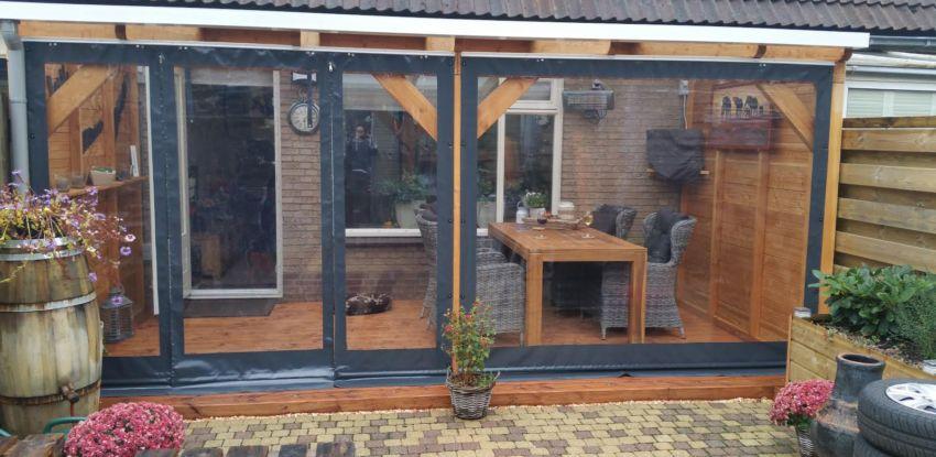Met verandazeilen verlengt u uw woonkamer - Veranda Zeilspecialist